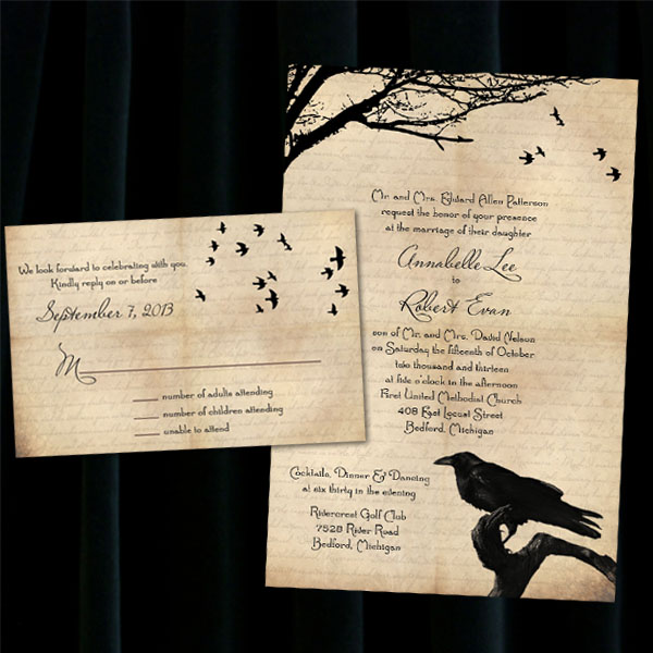 Seasonal & Destination Wedding Invitations